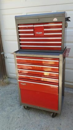 Craftsman rolling toolbox | storage, toolboxes | Pinterest ...