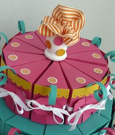 Sussex Circle Paperworks: Paper Cake Treat Boxes (Part I)