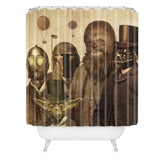 Terry Fan Victorian Wars Shower Curtain | DENY Designs Home Accessories