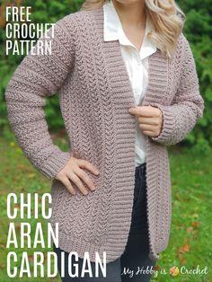 Crochet Jacket Pattern, Gilet Crochet, Crochet Coat, Crochet Clothes, Crochet Sweaters, Crochet Cardigan Pattern Free Women, Crochet Shrugs, Free Pattern, Pattern Design