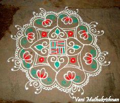 My Kolam: Free hand kolam