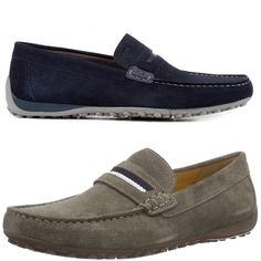 Geox Snake Moccasins U8207A Comfortable Breathable Walking Casual Shoes #Geox #Moccasins