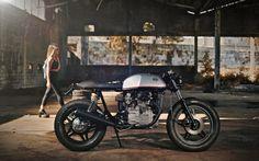 CB500 by Kinetic | Inazuma café racer