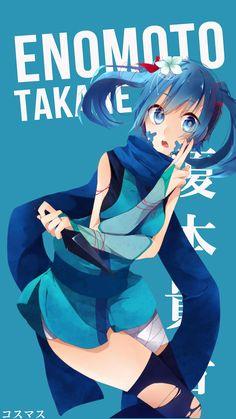 Enomoto Takane ~ Korigengi | Wallpaper Anime
