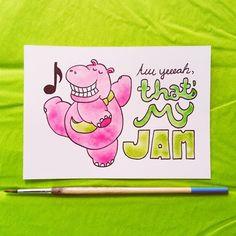 """Aw yeeeah, that's my jam!"" /// 4.6.15"
