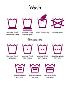 Laundry symbol references printables.