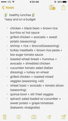 Recipes example note 8760000682 - Super recipe concept to think about.Healthy Recipes example note 8760000682 - Super recipe concept to think about. Healthy Meal Prep, Get Healthy, Healthy Life, Healthy Snacks, Healthy Living, Eating Healthy, Healthy College Diet, College Food, Eating Vegan