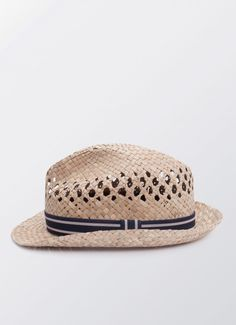 Open Weave Medal Strap Hat