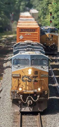 Csx Transportation, Trains, Train