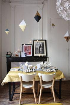 Les Petites Toulousaines- Blog Mode et Life Style Toulouse: Un nouvel an graphique / Table New Year Party