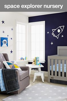 Create A Nursery That S Out Of This World With E Inspired Decor Your Little