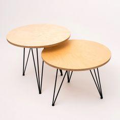 TULI dvojstolík | ROXOR DESIGN STORE Table, Furniture, Design, Home Decor, Products, Plywood, Oak Tree, Musical Composition, Decoration Home