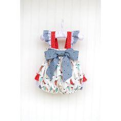 Sweet Sailor Baby Bubble - Kinder Kouture Boutique Clothing - 1
