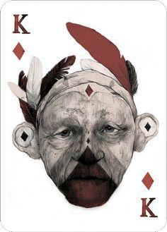 Pc041 - King of Diamonds by Simon Prades / 52 Aces