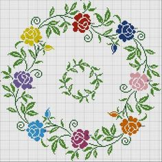 235 Likes, 14 Comments - demet Cross Stitch Heart, Cross Stitch Borders, Cross Stitch Flowers, Cross Stitch Designs, Cross Stitching, Cross Stitch Embroidery, Embroidery Patterns, Hand Embroidery, Cross Stitch Patterns