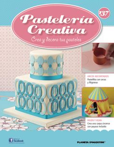 In this weeks issue of magazine, we show you how to make a filigree arch using your two oval cutters. Plus we show you how to decorate a with clown. Fondant Cakes, Cupcake Cakes, Cake Decorating Magazine, Beautiful Cakes, Special Occasion, Cooking Recipes, Birthday Cake, Create, Sweet