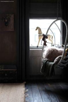 Tienerkamer meisje | Kinderkamerstylist Teen Girl Rooms, My House, Kids Room, Sweet Home, Curtains, Bedroom, Furniture, Design, Home Decor