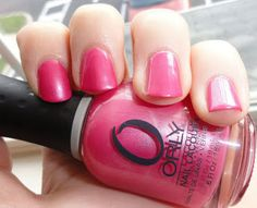 Orly Sterling Silver Rose - tried on 1 nail