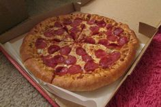 Pepperoni pizza ♡