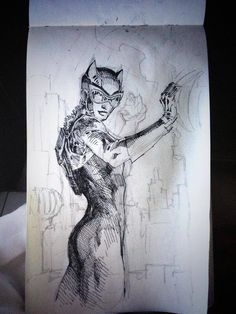 Jim Lee screenshots, images and pictures - Comic Vine Catwoman Batman Drawing, Batman Art, Superman, Drawing Poses, Drawing Sketches, Drawings, Jim Lee Art, Hawkgirl, You Draw