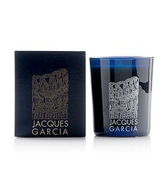 Jacques Garcia Silver Tuberose Candle