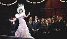 This is Anna Netrebko. She is larger than life. This picture is from the 2012 production of Manon that I actually saw. She is SERIOUSLY a goddess. The combination of her uniquely powerful voice and her fantastic acting skills makes her a superstar. I SO aspire to be like her and sing at the Met one day!