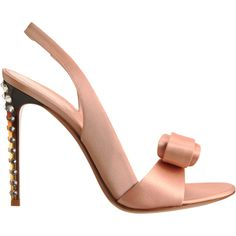 GIANVITO ROSSI Pink Bow23