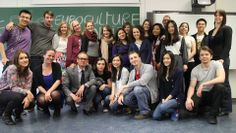 Final class with the Euroculture students (cohort 12-14). We'll miss you!