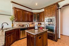 Kitchens | Granite Counters | Stainless Steel | New Homes | Oklahoma City