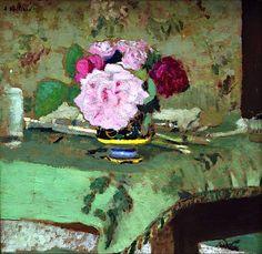 ❀ Blooming Brushwork ❀ - garden and still life flower paintings - Edouard Vuillard