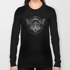 Tri-Blend Long Sleeve T-Shirts are made with Polyester, Cotton and Rayon. Enjoy everything you love about the fit, feel and durability of a vintage T-shirt. Shirt Designs, Fox, Portrait, Sweatshirts, Long Sleeve, Sweaters, Cotton, T Shirt, Stuff To Buy