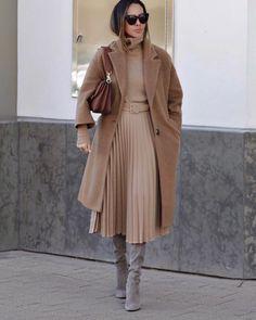 Бежевое пальто 2020: идеи, которые помогут выглядеть красиво (+27 фото)   Новости моды