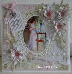 Voorbeeldkaart - Verjaardagskaart, - Categorie: Scrapkaarten - Hobbyjournaal uw hobby website