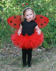 Ladybug Red Black FULL Custom Boutique Tutu by pamperedprincesses, $24.99