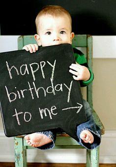 1st birthday pic