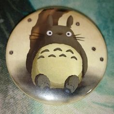 """Button Badge """"Totoro"""" Cool Size (38mm) #totoro #badge"""
