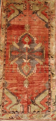 FR3088 Antique Turkish Oushak. Rugs. Home Décor. Color. Antique Rugs ...