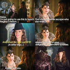 """Evil Queen and Zelena - 6 * 2 """"The Bitter Draught"""""""