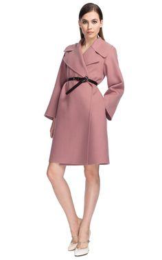 Marc Jacobs Rose Cashmere Wrap Coat