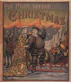 Children's Books - The Night Before Christmas (1860s)