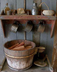 Sweet Liberty Homestead primitive wood shelf