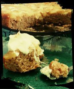 Torta de manzana y canela Pie, Vegan, Desserts, Food, Canela, Sweet Recipes, Torte, Tailgate Desserts, Cake