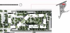 Mehrshahr Residential Complex Proposal / ContemporARchitectURban Designers Group,neighborhood site plan