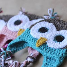 Repeat Crafter Me: Crocheting - tons of free patterns! Really cute.