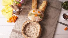 Our Bunny Bread Bowl Dip Is the Easiest Way to Entertain Easter GuestsDelish
