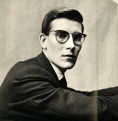 Yves Saint Laurent by Irving Penn- YSL- I bow to your Vision! Irving Penn, Yves Saint Laurent, Saint Yves, Christian Dior, Vintage Men, Vintage Fashion, Vintage Beauty, Portrait Photography, Fashion Photography