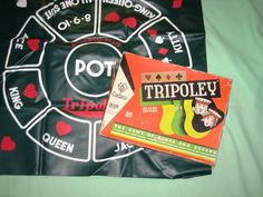 Tripoley - my parents usually invited friends over on Friday evenings to play cards, this is one game they enjoyed.
