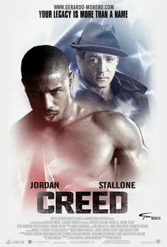 "Creed. Really enjoyed this movie. I've been a ""Rocky"" fan since I was a kid. Great performance from MBJ."