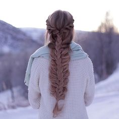 14 Adorable Winter Hairstyles with Braids You Will Like