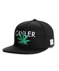 0ab3432137a31 Cayler   Sons Cayler snapback Cap black-green Snapback Caps
